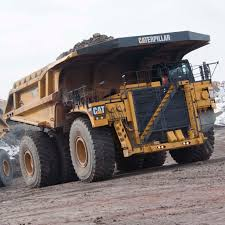 rigid dump truck diesel mining and quarrying 797f
