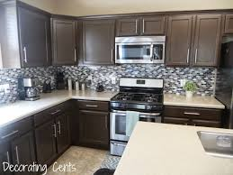 Chocolate Glaze Kitchen Cabinets Remodelaholic Diy Refinished And Painted Cabinet Reviews