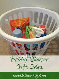 bridal shower basket ideas bridal shower gift idea a on a budget