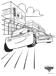 disney racing cars coloring pages image coloring disney racing