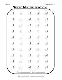 multiplication speed test worksheets u0026 timed test worksheets