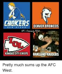 Broncos Raiders Meme - chikers denver broncos s a n d i e g o nfl comedy club kansas city