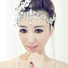 headpiece jewelry romatic silver shiny tiaras amp hair headpieces crystals tiaras
