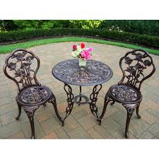 Bistro Patio Table Walmart 3 Bistro Patio Set Only 99 Free Shipping