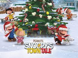 peanuts on christmas goodies snoopy and peanuts movie