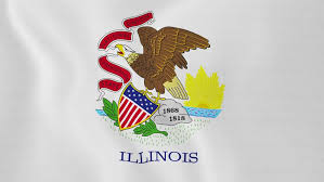 Illinois state flag waving stock footage video 2767676 shutterstock