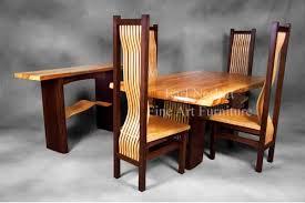 earl nesbitt fine furniture wood slab table fine art furniture