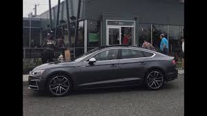 nardo grey s5 2018 audi s5 sportback full review youtube