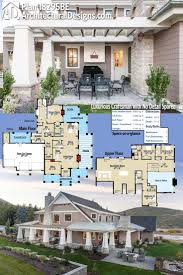 House Plans With A Wrap Around Porch by 602 Best House Designs And House Floor Plans Images On Pinterest