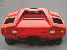 lamborghini back lamborghini countach lp 400 1973 picture 7 of 8