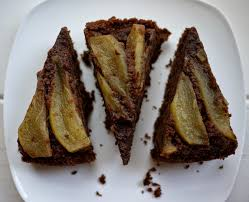 what kate baked and baby upside down caramelised pear
