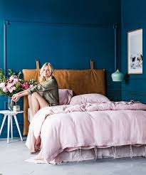 Best  Blue Headboard Ideas On Pinterest Navy Headboard Navy - Blue color bedroom ideas