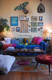 Dark Purple Vase Living Room Green Pendant Light Painting Blue Wall Dark Purple