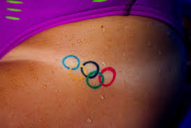for u s swimmers olympic rings tattoo is badge of honor the
