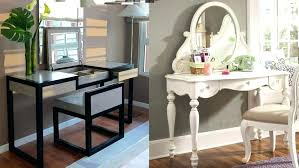 Small Makeup Desk Bedroom Vanity Table With Lights Vanity Dressing Table Bedroom