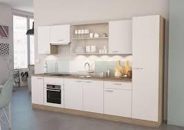 meubles colonne cuisine colonne de cuisine contemporaine 1 porte chêne brossé blanc mat