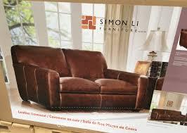 simon li leather sofa costco costco leather sofa simon li catosfera net