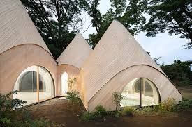 wooden tent issei suma completes a series of wooden tent structures for japan s
