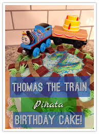 susan minchew thomas the train pinata birthday cake tutorial