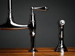 rohl bridge faucet with side spray