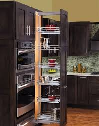 Black Kitchen Pantry Cabinet Tall Pantry Cabinet With Stunning Design For Best Kitchen Decor