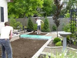 landscaping ideas backyard toronto the garden inspirations