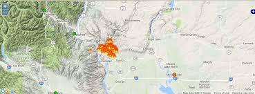 map of oregon smoke washington smoke information june 2017