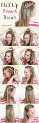 Hairstyle Steps For Girls by Best 10 Easy French Braid Ideas On Pinterest French Braiding
