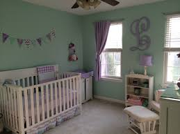 baby nursery mint and lavender baby pinterest