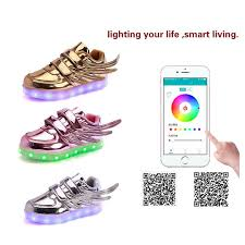 light up shoes charger dropshipping new design app control led light up board shoes with