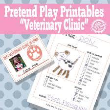 vet pretend play free kids printables pretend play free