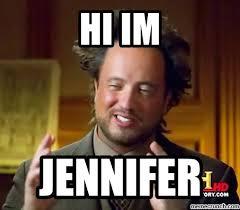 Jennifer Meme - im jennifer