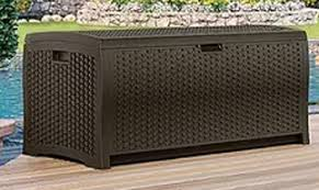suncast storage boxes outdoor furniture