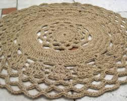 Round Natural Fiber Rug Circle Jute Rug Roselawnlutheran