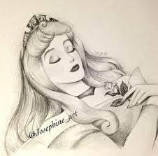 drawn princess sleeping beauty pencil color drawn