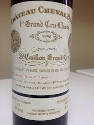 learn about chateau cheval blanc 1996 château cheval blanc bordeaux libournais st