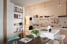 Vintage Inspired Kitchen by Home Design Modern And Minimalist Japanese Style Industrial