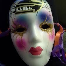 ceramic mardi gras masks for sale best ceramic painted glitter mardi gras mask for sale in yorkville