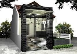 desain gapura ruang tamu aksesoris rumah minimalis rumahmu