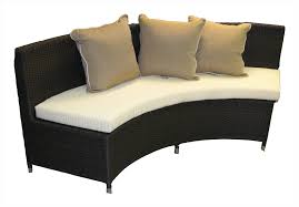 Patio Sectional Furniture Covers - furniture curved sectional sofa with gas fire pit for patio