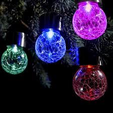 christmas tree solar lights outdoors pendant rgb led holiday l solar garden light outdoor patio