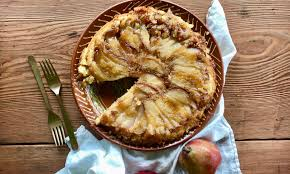 rustic pear upside down cake u2013 jessie sheehan bakes