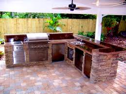 outdoor kitchens florida brick pavers