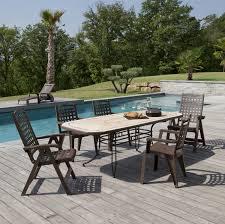 Table De Jardin En Palette by Grosfillex Salon De Jardin Vega U2013 Qaland Com