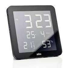 top3 by design braun braun weather station black