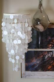 Party Chandelier Decoration by Capiz Shell Look A Like Mobile Chandelier Weddings Nurseries