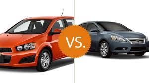 nissan micra vs chevrolet spark compare 2016 chevrolet sonic vs 2016 nissan sentra cars