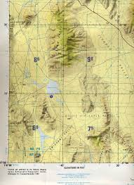Secret Map It U0027s No Secret Area 51 Was Never Classified