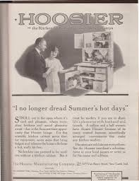 Kitchen Hoosier Cabinet Sunday Adverts Hoosier Kitchens Cabinets And Refrigerators In