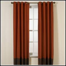 Orange And Brown Curtains Charming Burnt Orange Curtains And Burnt Orange And Brown Shower